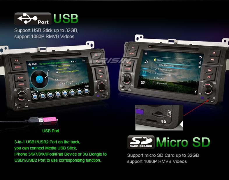 7″ Android DAB+GPS BMW 3 Serie 318 320 E46 – NTC Italia