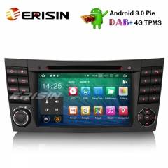 "Erisin ES4880E 7"" Android 9.0 Pie Car DVD Player GPS VPN Wifi 4G for Benz"