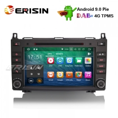 "Erisin ES4821B 8"" Android 9.0 Autoradio GPS DAB+ DVD Player for Mercedes Benz A/B Class Sprinter Viano Vito"