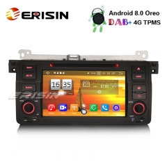 "Erisin ES7546B 7"" 8-Core Android 8.0 Car Stereo for BMW 3 Series E46 M3 Rover75 MG ZT GPS DAB+ Wifi CD"