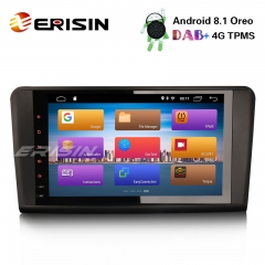 "Erisin ES2894L 9"" DAB+ Android 8.1 GPS Navi DVB-T2 4G Autoradio for Mercedes ML/GL Klasse W164 X164"