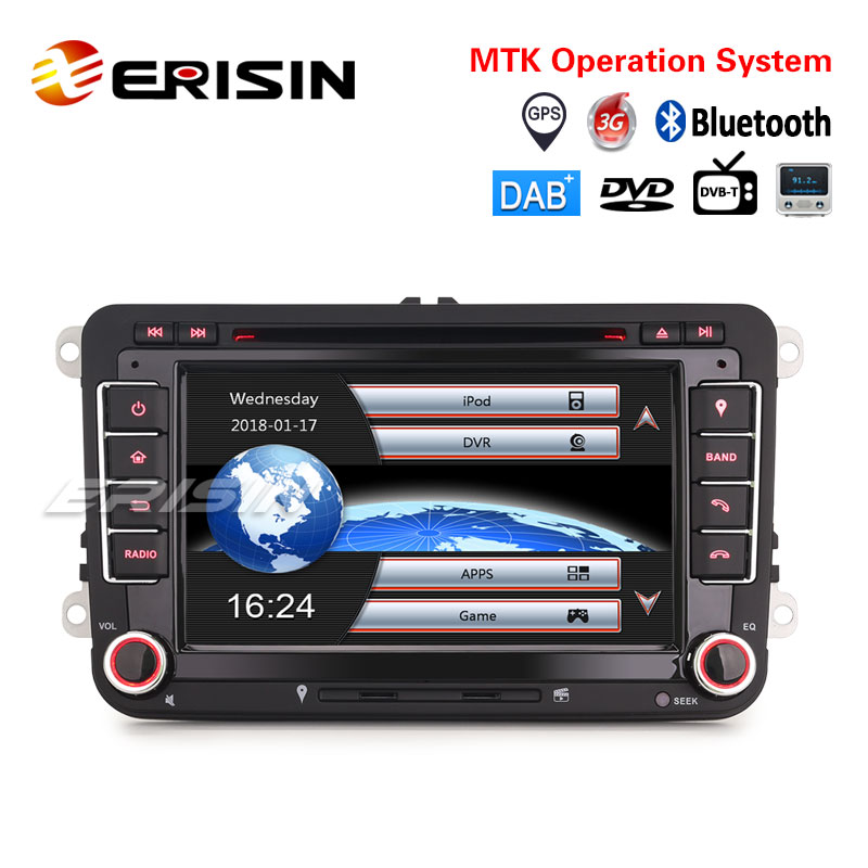 """What Does Tiguan Mean >> Erisin ES7148V 7"""" Car Stereo GPS DAB+ CD DTV OPS For VW Golf Passat Tiguan Polo Sharan Jetta Seat,VW"""