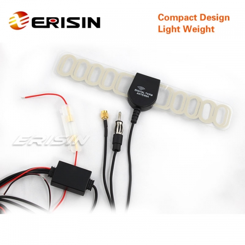 Erisin ES020S New In Car Digital TV DVB-T & Radio Community Antenna Aerial with Amplifier