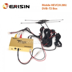 Erisin ES338-L Touch Screen Control Car Mobile Digitale HDTV DVB-T2 Receiver