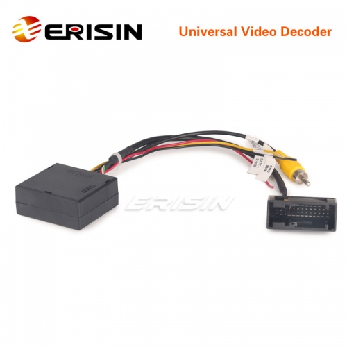 Erisin ES076 Universal Can Bus Decoder for VW original Car Rear View Camera Video