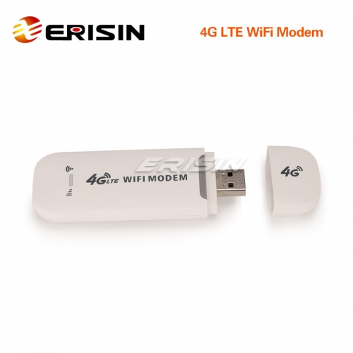 Erisin ES246 4G USB WiFi Modem Hotspot Portable Router LTE Dongle SIM Card Slot Unlocked