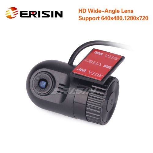 Erisin ES456 HD 720P G-sensor In Dash Car Camera Video Recorder DV-Recorder DVR Cam, can't be used in Android car multimedia