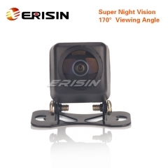 Erisin ES585 Universal HD Fisheye 170° Starlight Night Vision CCD Car Reverse Rear View Camera