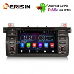 "Erisin ES4946B 7"" DAB+Android 9.0 Autoradio for BMW 3er E46 M3 318 320 MG ZT Rover 75 Wifi CD Navi"