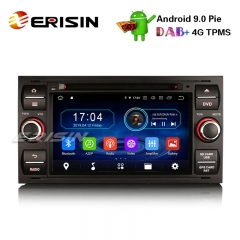 "Erisin ES4931FB 7"" Android 9.0 Autoradio GPS DAB+ Wifi 4G DVB-T2 for Ford Focus Kuga Transit Galaxy"