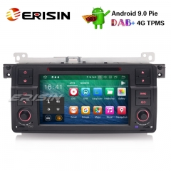 "Erisin ES7962B 7"" Android 9.0 Car Stereo GPS DAB+ CD Bluetooth DTV DVR SD BMW E46 M3 Rover75 MG ZT"