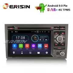 "Erisin ES4974A 7"" DAB+DVD BT Android 9.0 Car Stereo AUDI A4 S4 RS4 SEAT EXEO GPS Wifi Radio SatNav"