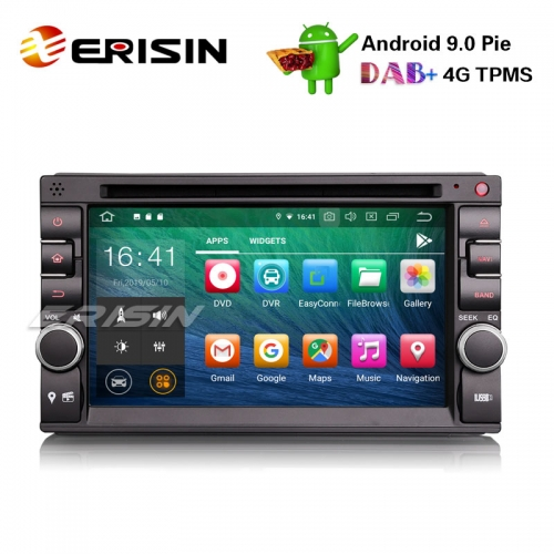 "Erisin ES7936U-64 6.2"" 2 Din Nissan/Universal Android 9.0 Car Stereo GPS WiFi DAB+ DVR OBD CD DTV-IN BT"