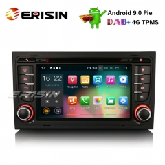 "Erisin ES7978A 7"" Android 9.0 Car Stereo DAB+ GPS Wifi DVR CD 4G BT AUDI A4 S4 RS4 B7 B9 SEAT EXEO"