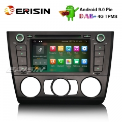"Erisin ES7940B 7"" Car Stereo Android 9.0 DAB+ GPS CD BT Satnav BMW 1 Serie E81 Hatchback E82 E88"