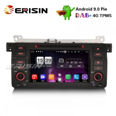 "Erisin ES7746B 7"" 8-Core Android 9.0 BMW E46 318 320 325 M3 Rover75 MG ZT Car Stereo GPS DAB+ CD DVD BT"