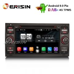 "Erisin ES7766FB 7"" Android 9.0 Oreo Car Stereo GPS DAB+ Bluetooth DVD for Ford C/S-Max Galaxy Kuga Focus Transit"