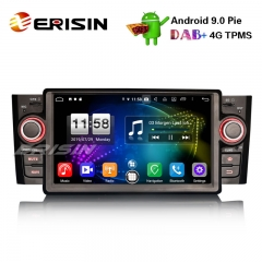 "Erisin ES7723L 7"" DAB+Android 9.0 Car Stereo GPS WiFi DTV 4G Bluetooth OBD for Fiat Punto Linea"