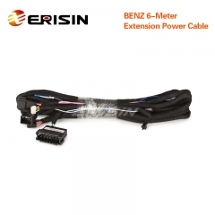 6M Extension Power Cable KD-BENZ-6M + Cable 3 for ES7710E