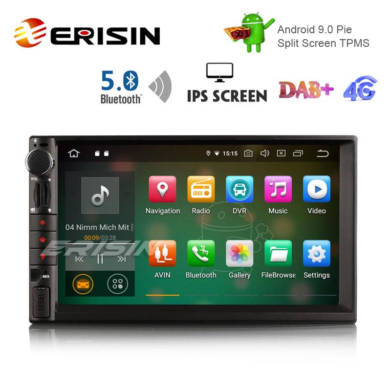 "Autoradio Erisin ES8049U 7/""  DSP Android 9.0 per WiFi Navigation RDS 4G"