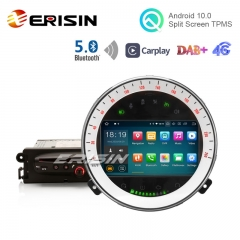 "Erisin ES5108M 7"" Android 10.0 Car DVD Player DAB+ 4G GPS BT5.0 Apple Carplay for BMW Mini Cooper"