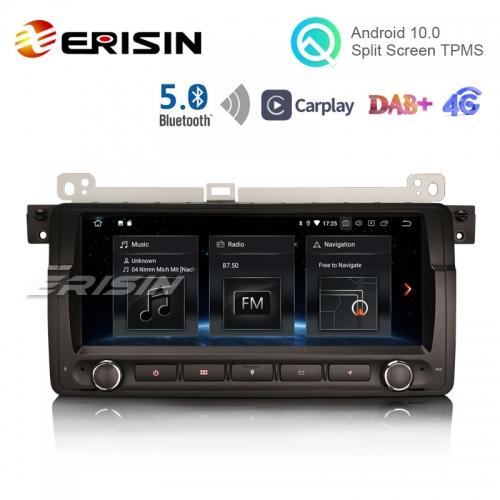 Erisin Es5146b 8 8 Android 10 0 Bmw E46 Car Radio Gps Dab 4g Bt5 0 Carplay Bmw