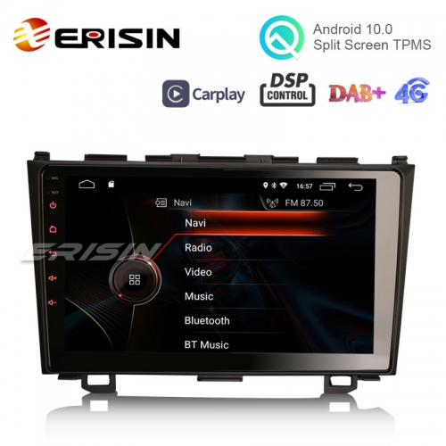 "Erisin ES4299C 9"" Android 10.0 Car Stereo for HONDA CR-V GPS WiFi 4G TPMS DVR DAB+ DSP CarPlay"