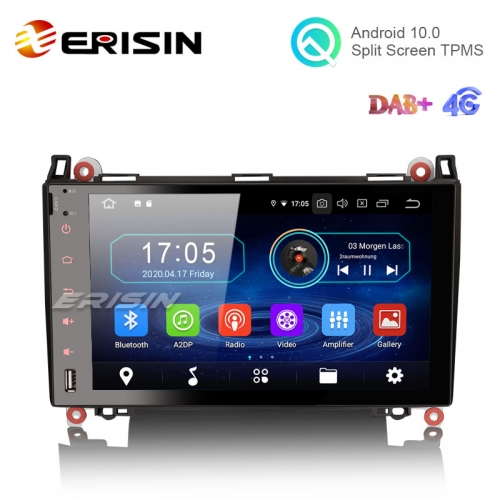 "Erisin ES5992B 9"" Android 10.0 Car Stereo for Mercedes Benz A/B Class W169 W245 Sprinter Viano Vito DAB+ CarPlay+"