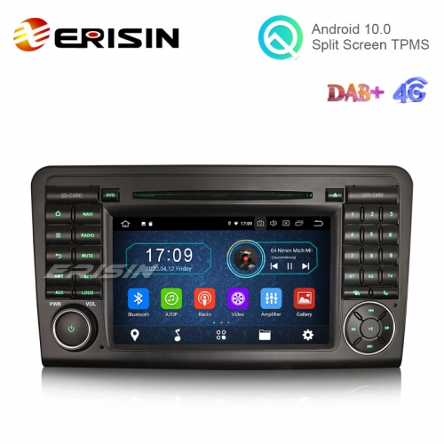 "Erisin ES5961L 7"" Android 10.0 Car Stero for Mercedes Benz ML/GL Class W164 X164 DAB+ CarPlay+ Navi TNT Wifi"