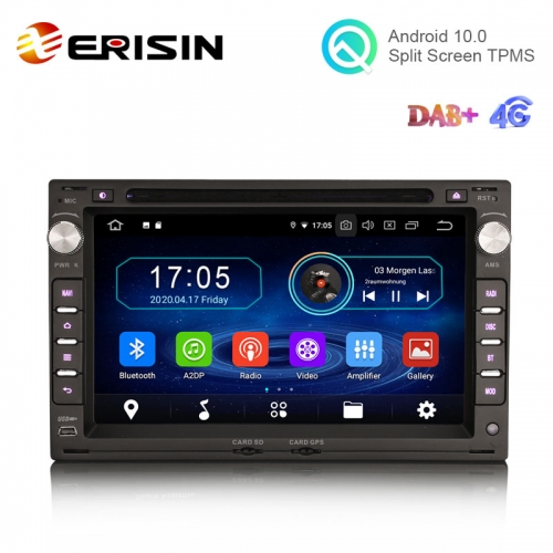 "Erisin ES5986V 7"" Quad-Core Android 10.0 Car DVD GPS Radio WiFi BT for VW CITI CHICO BORA LUPO GOLF Ⅳ PASSAT B5"