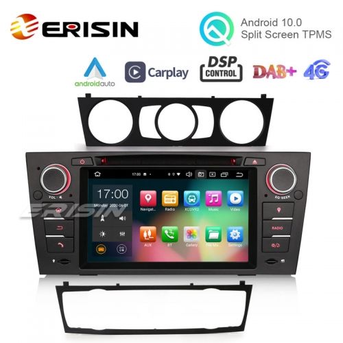 "ES8167B 7"" 64G Android 10.0 Car Multimedia for BMW M3 E90 E92 E93 CarPlay & Auto GPS TPMS DAB+ DSP DVD Player"