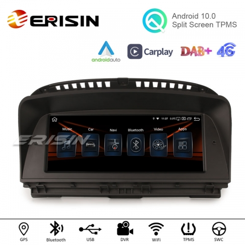 "Erisin ES2865B 8.8"" Android 10.0 Car Stereo GPS Carplay Android Auto WiFi TPMS DVR DAB+ Radio for BMW 7er E65/E66 (01-08) CCC"
